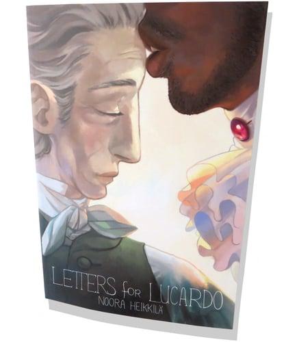 Letters for Lucardo Cover