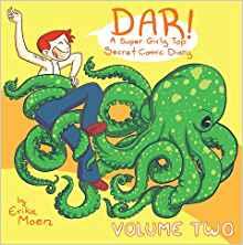 DAR: A Super Girly Secret Comic Diary Cover