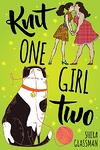 Cover of Knit One Girl Two, f/f contemporary romance