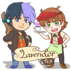 Lavender Tea Cover
