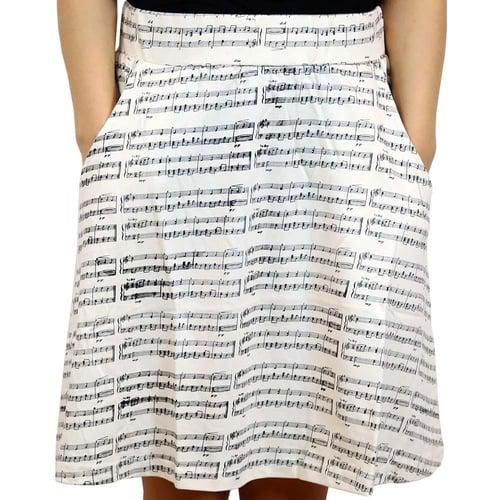 Sheet Music Skirt
