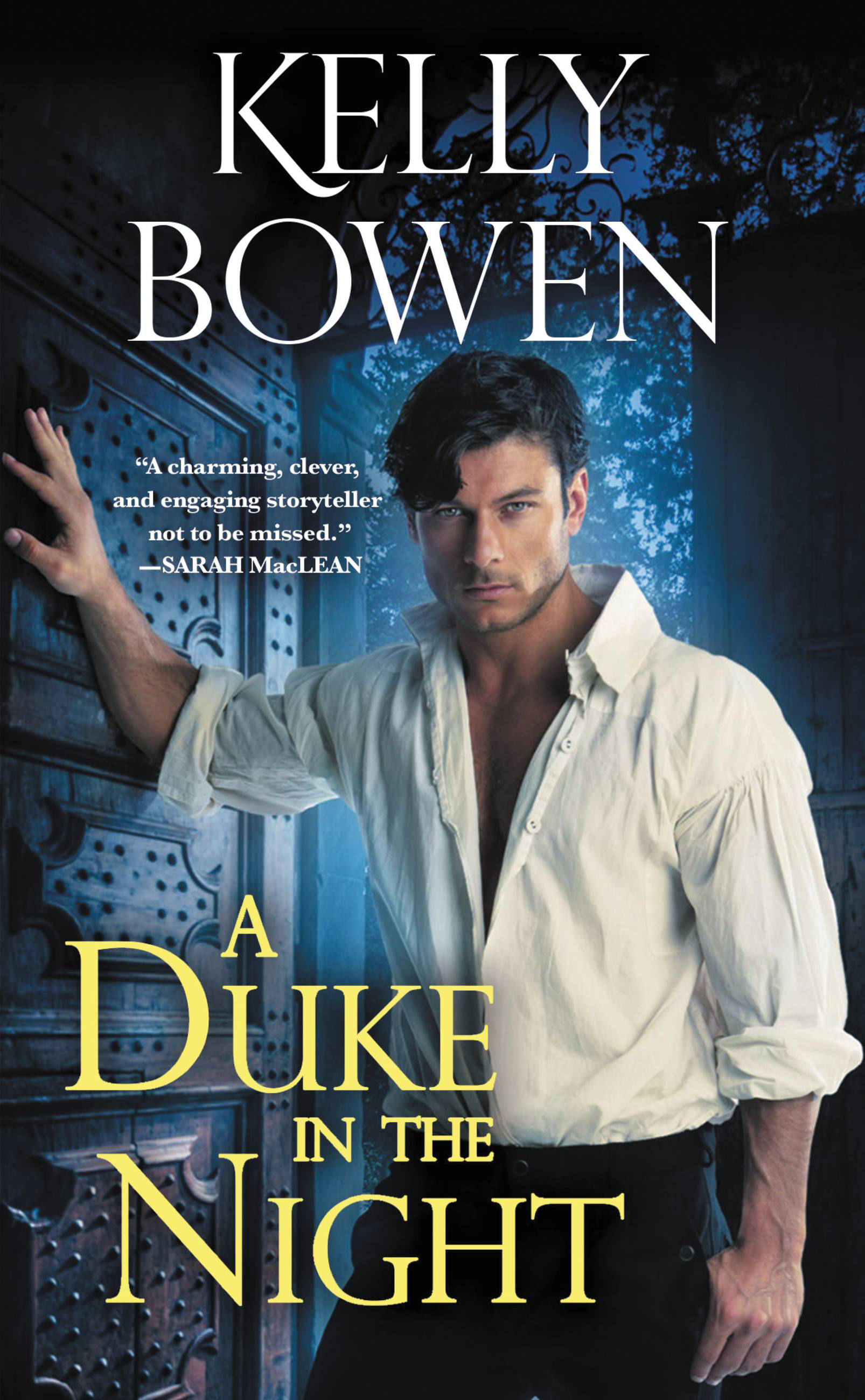 A Duke in the Night Cover