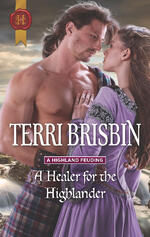 Cover of A Healer for the Highlander, historical romance by Terri Brisbin