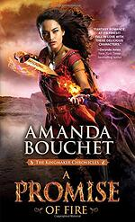 A Promise of Fire, fantasy romance