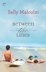 Cover of Between the Lines, by Sally Malcolm
