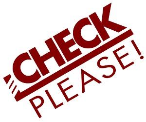 Check, Please! Cover