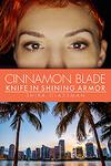 Cover of Cinnamon blade, f/f superhero romance novella