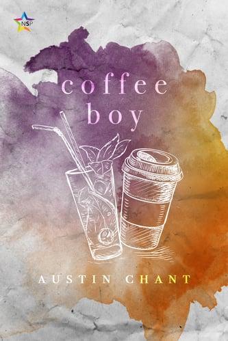 Cover of Coffee boy, LGBTQ+ romance by Austin Chant