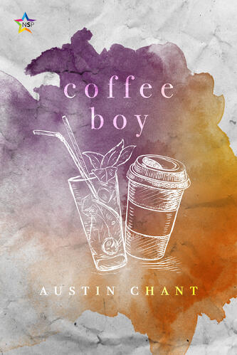 Cover of Coffee boy, LGBTQ+ romance by Austin Chant