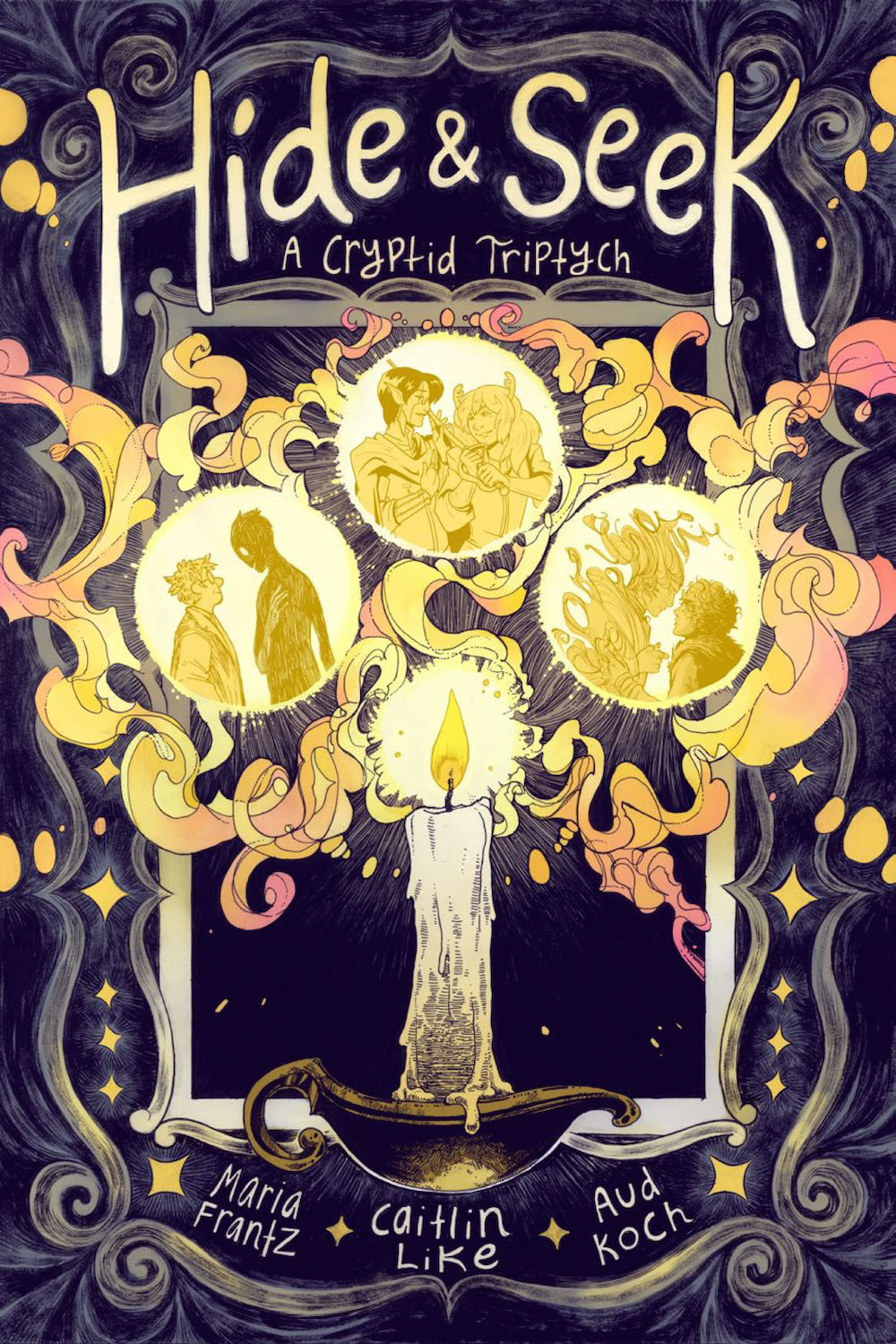 Hide & Seek: A Cryptid Triptych Cover