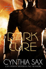 Cover of Dark Cure, scifi romance by by Cynthia Sax