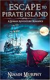 Cover of f/f historical romance, Escape to Pirate Island