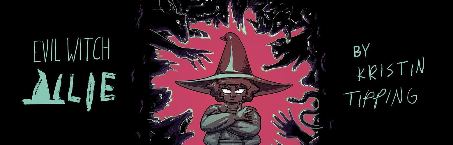 Evil Witch Allie Cover