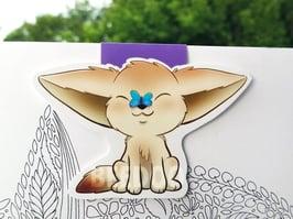 fennec-fox-bookmark