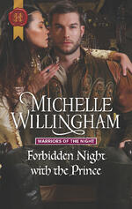 Cover of Forbidden  Night with the Prince, historical romance by Michelle Willingham