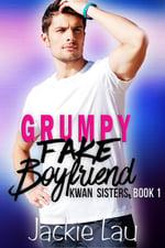 Grumpy Fake Boyfriend, contemporary interracial romance