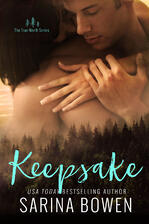 Keepsake, contemporary romance by Sarina Bowen