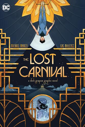 The Lost Carnival: A Dick Grayson Graphic Novel Cover