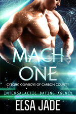 Cover of Sci-Fi Romance, Mach One by Elsa Jade