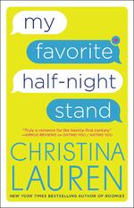 Cover of My Favorite Half-Night Stand, by Christina Lauren