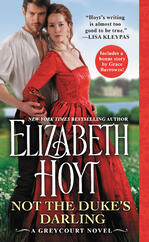 Cover of Not the Duke's Darling, by Elizabeth Hoyt
