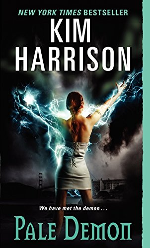 cover of pale demon, urban fantasy novel
