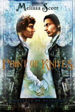Cover of Point of Knives, m/m fantasy romance
