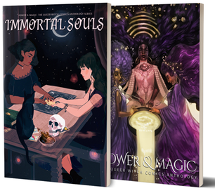 Power & Magic - The Queer Witch Comics Anthology Cover