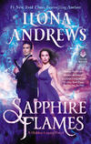 cover of paranormal romance Sapphire Flames