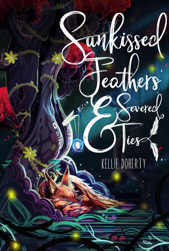 Sunkissed Feathers & Severed Ties Cover