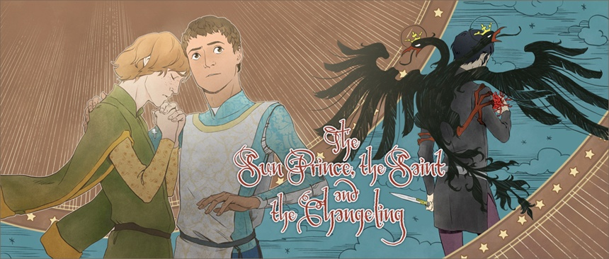 The Sun Prince, the Saint, and the Changeling Cover