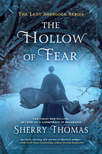 Cover of The Hollow Of Fear, Historical Mystery Romance by Sherry Thomas