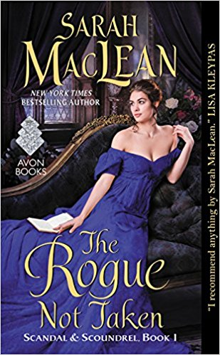 The Rogue Not Taken by Sarah Maclean cover historical romance