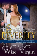 Cover of historical romance The Wise Virgin by Jo Beverley