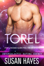 Cover of Torel, sci-fi romance by Susan Hayes