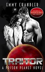 Cover of Traitor, sci-fi romance from Emmy Chandler