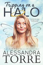 Cover of contemporary romance Tripping on a Halo