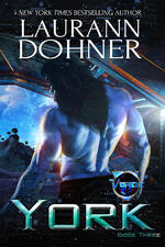 Cover of York, scifi romance by Laurann Dohner